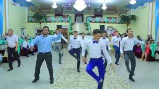 Repeat youtube video Маргулан-Жансая Флешмоб на Свадьбе 14.08.2016!!! жезказган