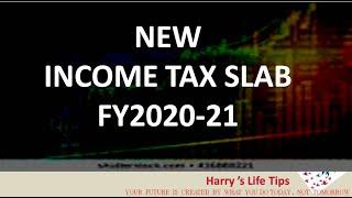 NEW INCOME TAX SLAB 2020-21 - Tax slab malayalam - TAX CALCULATION - Harrys Life Tips - INCOME TAX