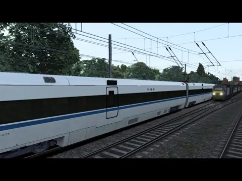 Chinese CRH1 meets ECML in london