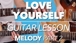 ► HOW TO PLAY | Love Yourself | Justin Bieber | Guitar Tutorial (Melody) FREE TAB