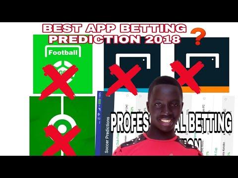 BEST PROFESSIONAL APP BETTING PREDICTION 2018