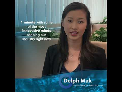 Xylem presents One Minute in Water Learn about innovation, sustainability and the people from Xylem in this video series. https://bit.ly/2ZvCLUD.