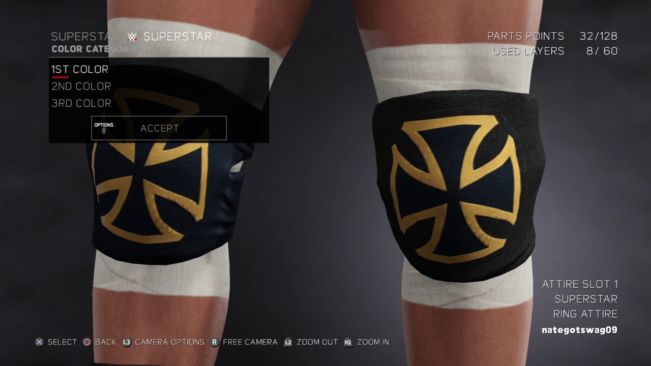 WWE 2K17 Triple H Attire 2017