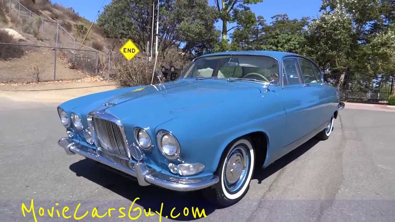 Movie Cars Rare Jaguar 420 Mark X Movies Car Classic Film TV Television  Actors Auto For Sale