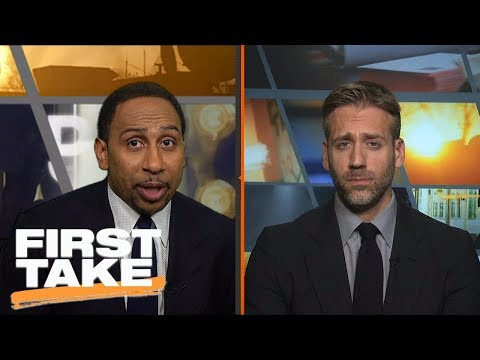 Stephen A. Smith calls debate about Clippers and Chris Paul 'blasphemous' | First Take | ESPN