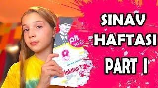 Sınav Haftası Vlog Part 1/4 Ecrin Su Çoban