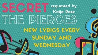 Secret - The Pierces Lyrics