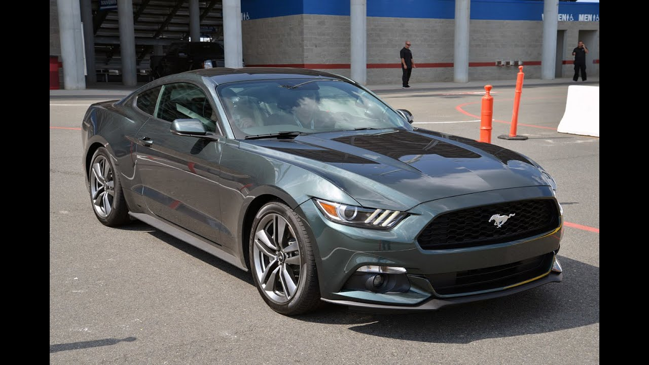 2015 ford mustang 2 3 ecoboost turbo test drive real world