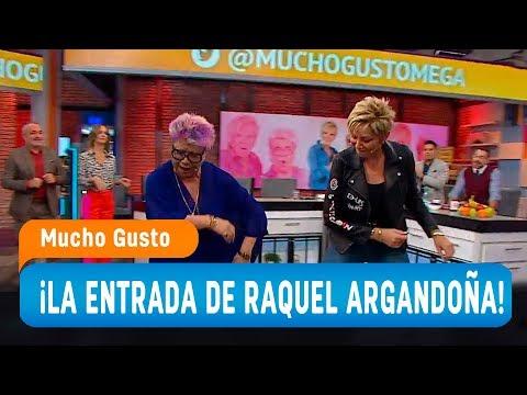 La expectante bienvenida de Raquel Argandoña en Mucho Gusto - Mucho Gusto 2019