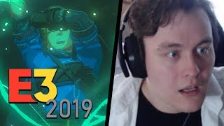 MY LIVE REACTION TO BREATH OF THE WILD 2! NEW ZELDA REACTION! | RogersBase E3 2019