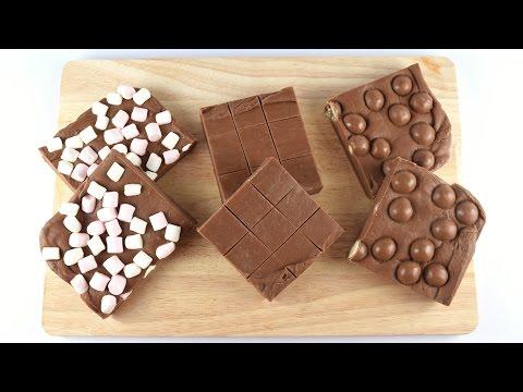 2 Ingredient Easy Chocolate Fudge Recipe