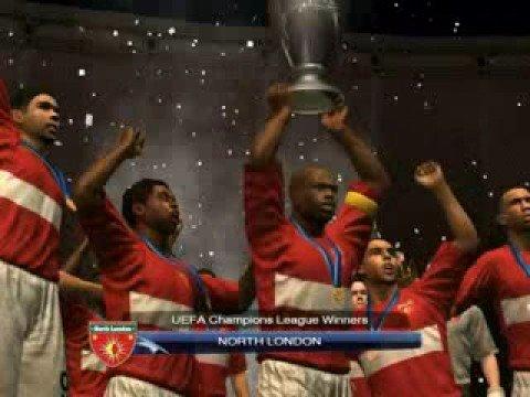 PES 2009 UEFA Champions League Winner Arsenal