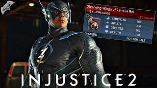 Injustice 2 Online - LEGENDARY FLASH GEAR!