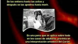 Lapidacion de las mujeres adulteras - Los Horrores del Islam