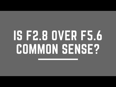 Is f2.8 OVER f5.6 COMMON SENSE?  (Nikon 80-200 f2.8 vs Nikon 70-300mm)