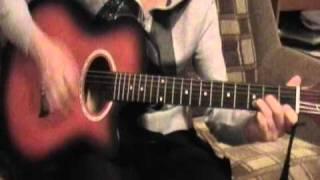 Уроки на гитаре. Заочная ученица Виктории Юдиной