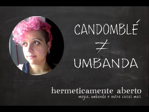 Candomblé ≠ Umbanda