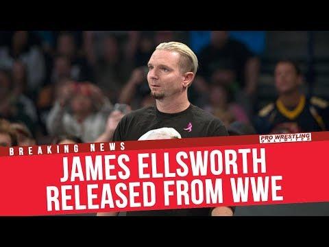 BREAKING NEWS: James Ellsworth Released From The WWE