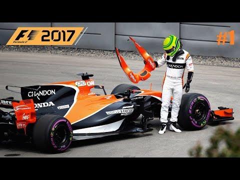 F1 2017 // 🇦🇺 S01R01:  AUSTRALIA-MELBOURNE // McLAREN HONDA KARRIER