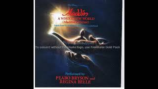 Regina Belle & Peabo Bryson - A whole new world