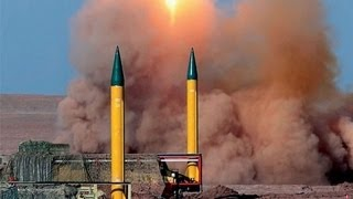 WW3: Iran missiles target mock enemy bases - Irã testa mísseis visando bases inimigas na região
