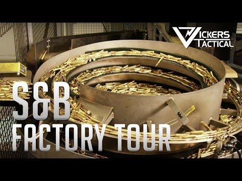 Sellier & Bellot Factory Tour 4k