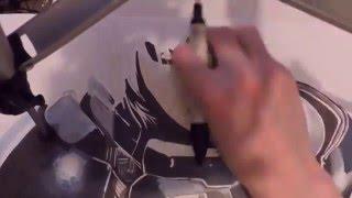 Mass Effect FemShep ProMarker speed drawing