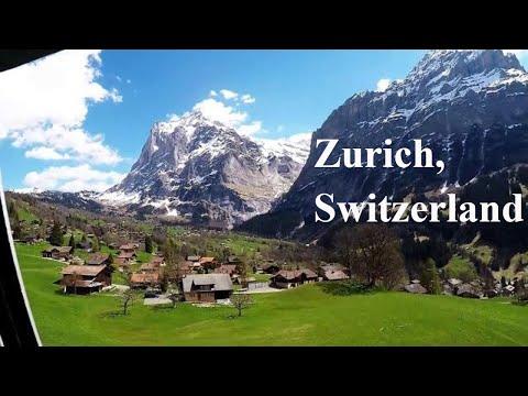Grindelwald, Switzerland- My trip from Zurich via Interlaken to grindelwald first, Switzerland 2017