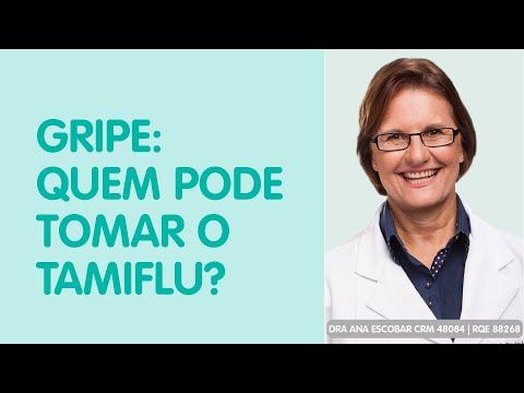 Gripe: Quem pode tomar o Tamiflu? -  Dra Ana Escobar