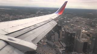 Southwest Airlines Boeing 737-300 Landing at Dallas Love Field