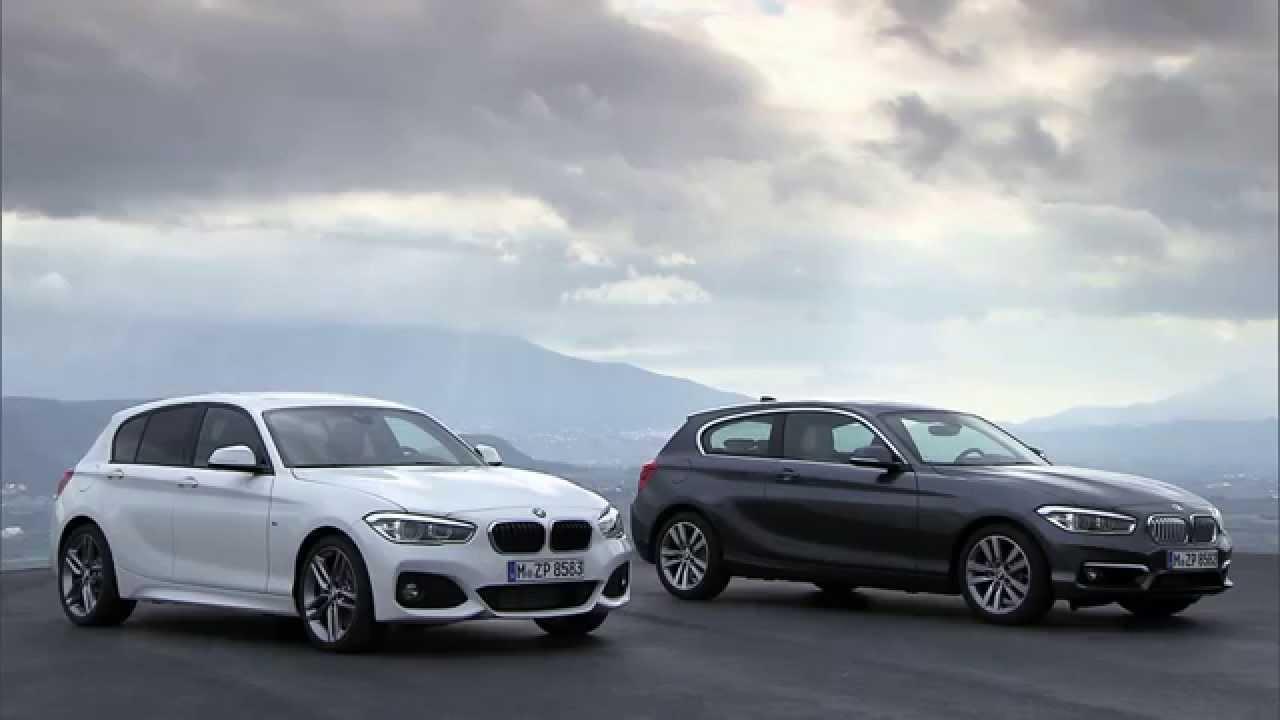 2015 BMW 1er Facelift neu / new BMW 1Series facelift - YouTube