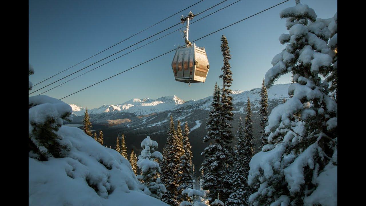 New whistler village gondola cabins youtube for Cabine in whistler