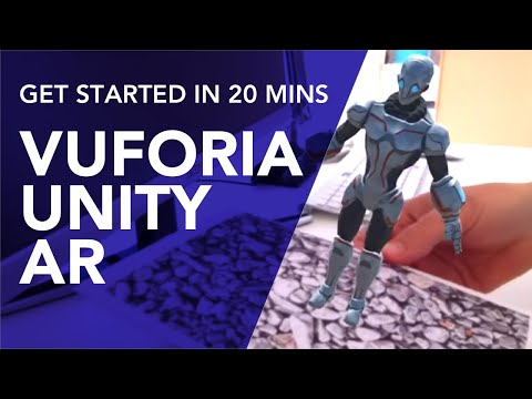 Vuforia Unity Android Tutorial, Your First AR App in 20 minutes