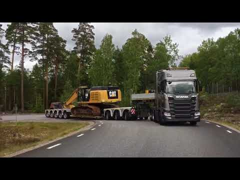 Scania XT and Heavy Haulage