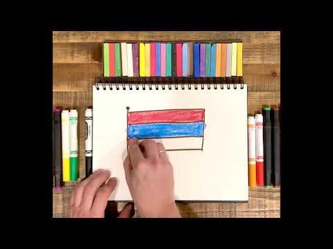 Урок рисования для детей. Рисуем флаг Армении!
