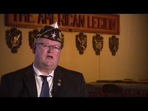 American Legion Post 521 Commander Joseph Thomas On Veterans Day