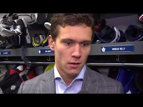 Maple Leafs Morning Skate: Nikita Zaitsev - October 14, 2017