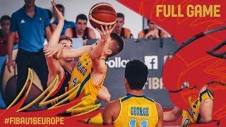 Sweden v Russia - Full Game - Classification 13-16 - FIBA U16 European Championship 2017
