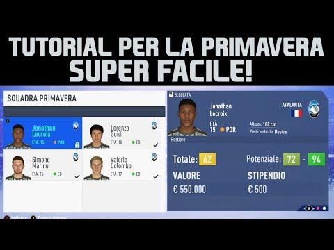 Come TROVARE i MIGLIORI TALENTI per il VIVAIO di FIFA19! TUTORIAL SUPER FACILE!