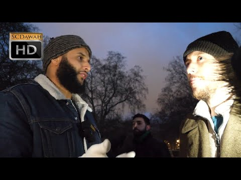 P4 - Racist Slavery! Muhammed Hijab Vs Agnostic | Speakers Corner | Hyde Park
