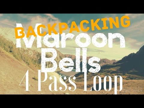 3 Day Backpacking Adventure || Maroon Bells - Snowmass Wilderness