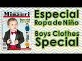 Minauri Nº 16 Ropa Niño -Boy's (Kids`s) Clothes ( Pattern Magazine )