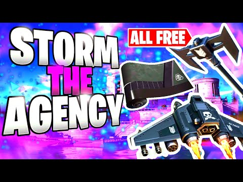 3 FREE ITEMS In Fortnite! | Storm The Agency Is HERE!