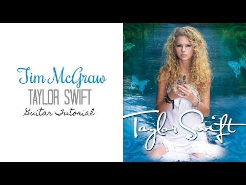 Tim McGraw - Taylor Swift // Guitar Tutorial