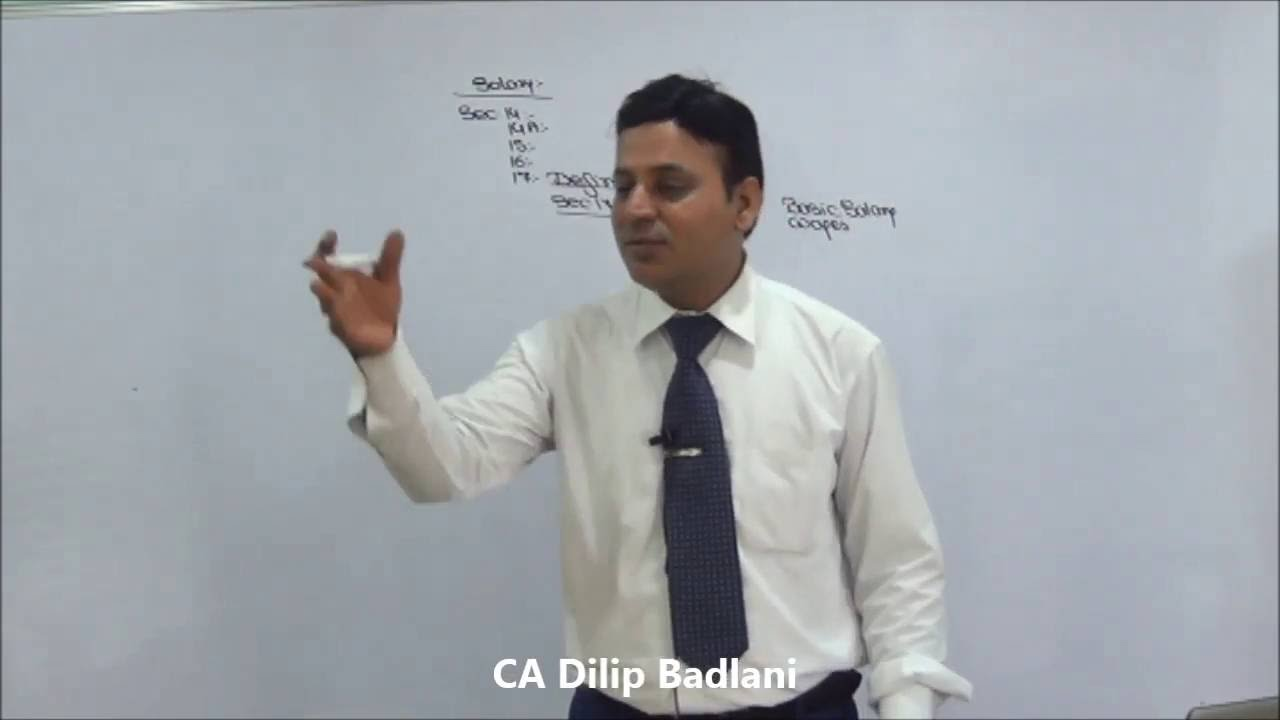 ca dilip badlani classes videos