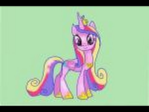 How to draw Princess Cadence from My Little Pony ...