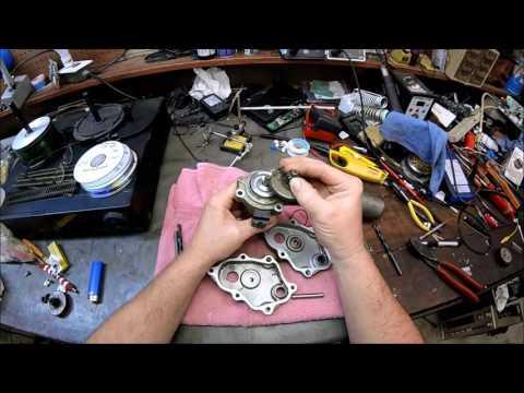 07 Honda Rancher ES..electric shift repair and blind bearing removal..