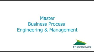 FAQ - Master Business Process Engineering & Management