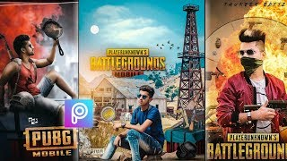 Picsart PUBG GAME Poster Photo Editing In Picsart App | Instagram Viral Pubg Photo Editing In Hindi
