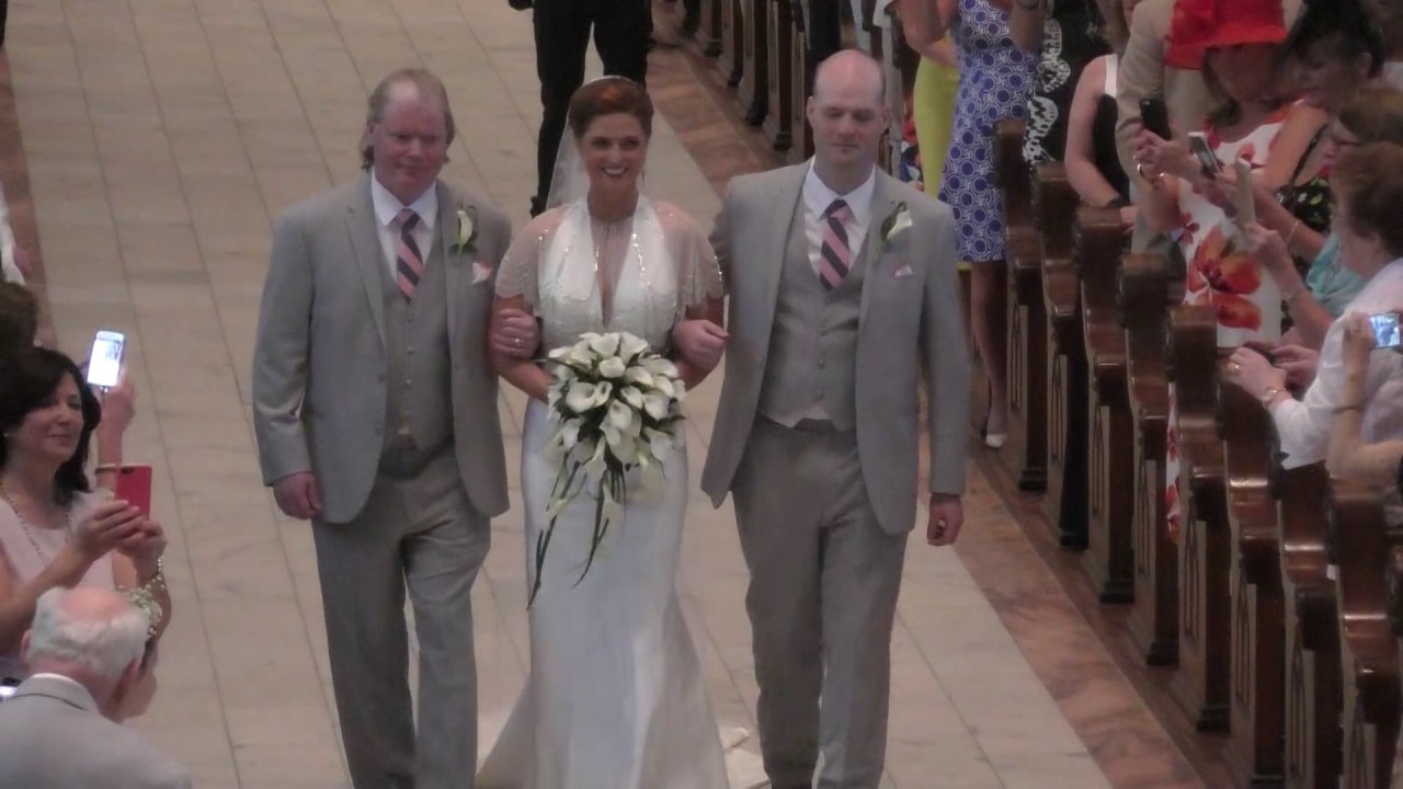 the wedding of kathleen keady and tim walsh youtube